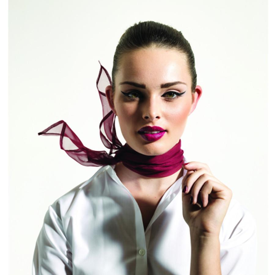 Sifonkihuivi - Silkki Sampo d0187bb3c8